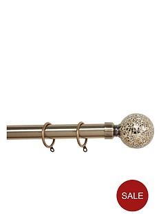 glamour-extendable-crackle-glass-finial-pole-set