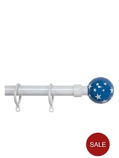 star-kidsnbspextendable-ball-finial-curtain-pole