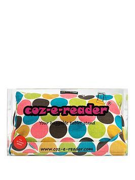 coz-e-reader-tablet-cushion-spot-design