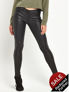 noisy-may-eve-slim-pu-coated-pant