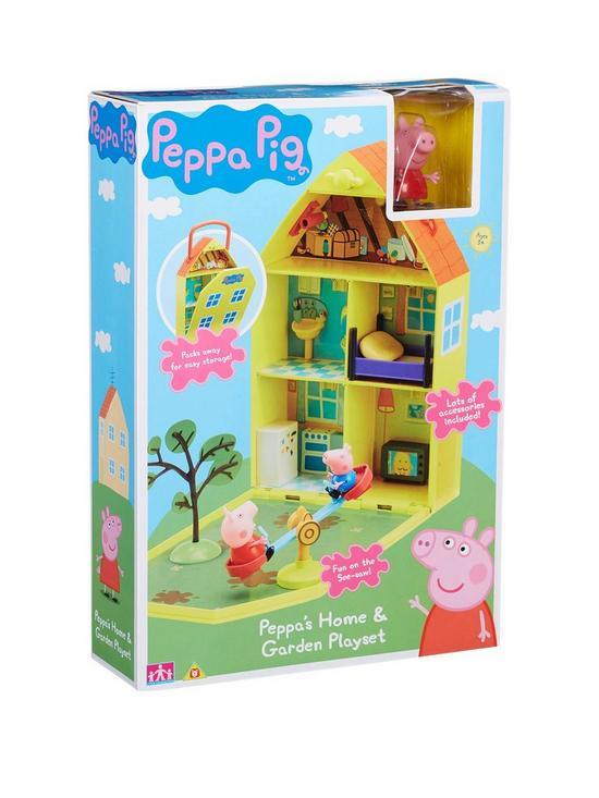 Peppa S House Garden Playset