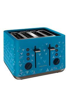morphy-richards-prism-4-slice-toaster-blue