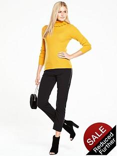 v-by-very-roll-neck-frill-collar-skinny-rib-jumper