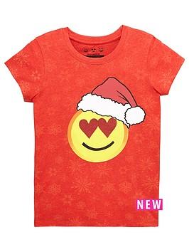 emoji-girls-xmas-glitter-love-hearts-tee