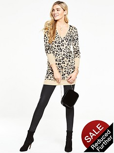 v-by-very-animal-print-jacquardnbspv-neck-tunic