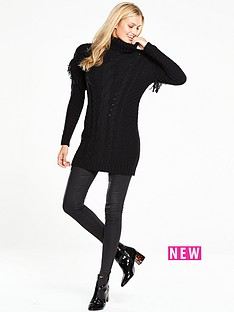 v-by-very-fringe-cable-knit-chunky-tunic
