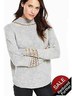 v-by-very-chain-trim-jumpernbsp