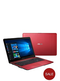 asus-vivo-book-x540sa-intelreg-celeronreg-processor-4gb-ram-1tb-hard-drive-156-inch-laptop-with-optional-microsoft-office-365-red