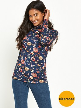 warehouse-painted-floral-polo