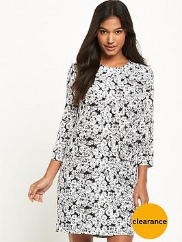 warehouse-daisy-print-ls-dress