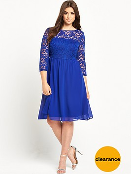 v-by-very-curve-lace-skater-dress-14-28-cobalt-blue