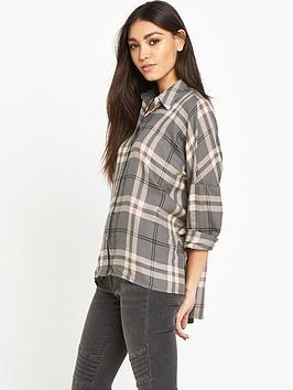 warehouse-batwing-check-shirt