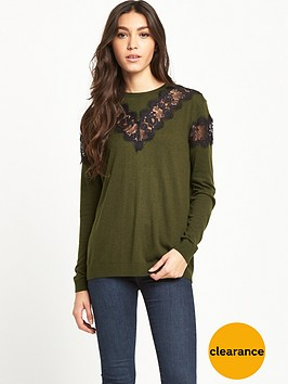 warehouse-lace-yoke-jumper