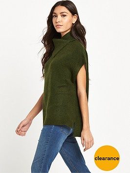 warehouse-cowl-neck-jumper