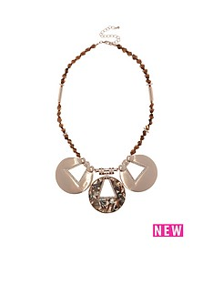river-island-circle-detail-resin-collar