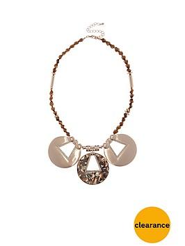river-island-circle-detail-resin-collar