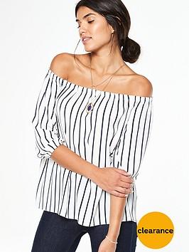 wallis-stripe-off-shoulder