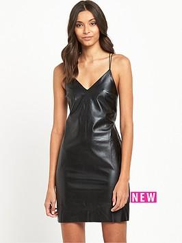 miss-selfridge-punbspcami-dress-black
