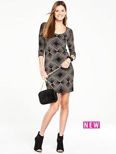 wallis-geo-sparkle-dress