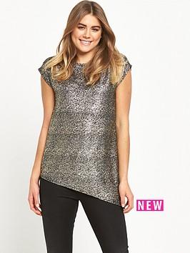 wallis-wallis-sparkle-asym-top