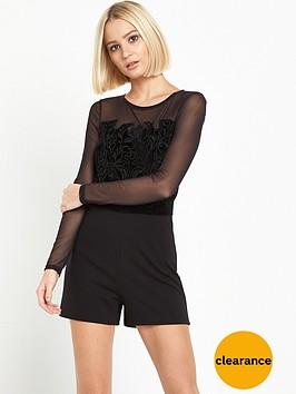 miss-selfridge-cornelli-playsuit-black
