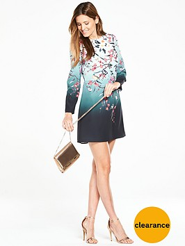 oasis-heidi-placement-ls-shift-dress