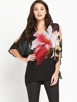 wallis-lily-bloom-sheer-top
