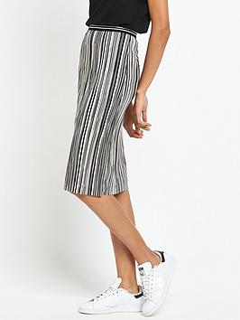 miss-selfridge-stripe-plisse-skirt