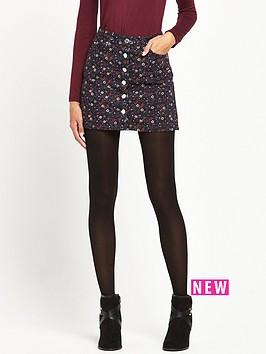 miss-selfridge-gypster-print-button-thru-skirt