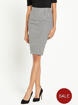 miss-selfridge-gingham-high-waist-pencil