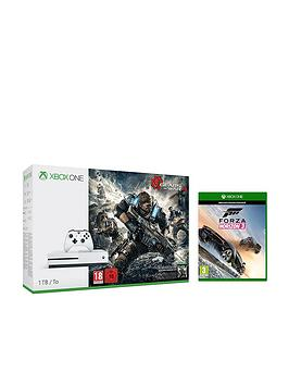 xbox-one-s-1tb-console-with-gears-of-war-4-and-forza-horizon-3-plus-optional-12-months-xbox-gold-andor-an-extra-controller