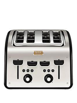 Tefal Tt7708Uk Maison Toaster Metal/Black