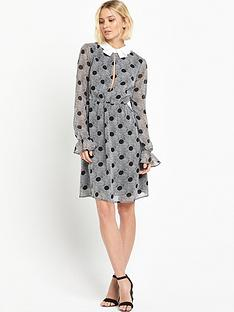 lost-ink-aurelia-spot-print-collar-dress