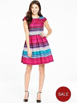 ted-baker-blushing-bouquet-stripe-dress