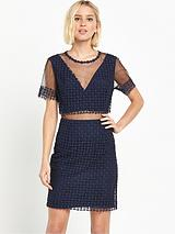 AmelieLace And Mesh Dress