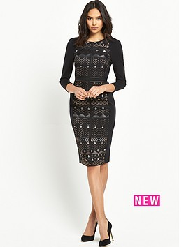 ted-baker-deco-sparkle-jacquard-dress