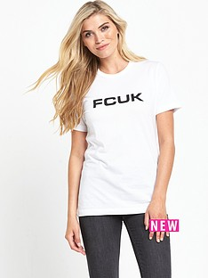 french-connection-fcuk-bold-t-shirt-white