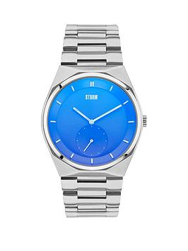 storm-voltor-lazer-blue-dial-stainless-steel-bracelet-mens-watch