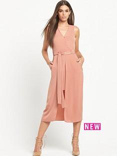 river-island-sleeveless-wrap-waisted-dress