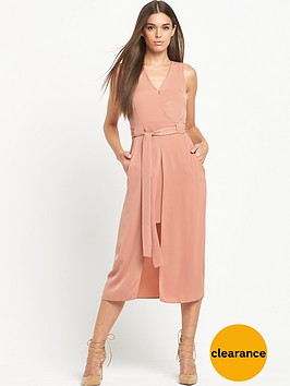 river-island-sleeveless-wrap-waisted-dress