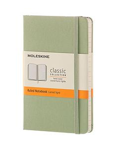 moleskine-moleskine-classic-a6-hard-cover-ruled-notebook--willow-green