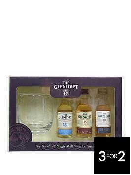 glenlivit-malt-whisky-tasting-selection