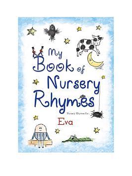 personalised-my-book-of-nursery-rhymes-hardback