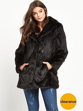v-by-very-curve-longline-faux-fur-coat-black