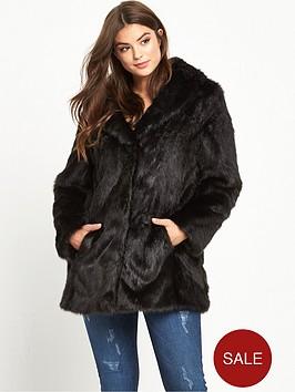 Faux Fur Jackets | Faux Fur Coats | Very.co.uk