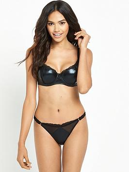 pour-moi-contradiction-leather-look-demi-padded-bra