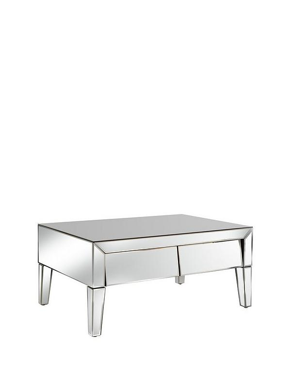 Monte Carlo Mirrored Storage Coffee Table Very Co Uk