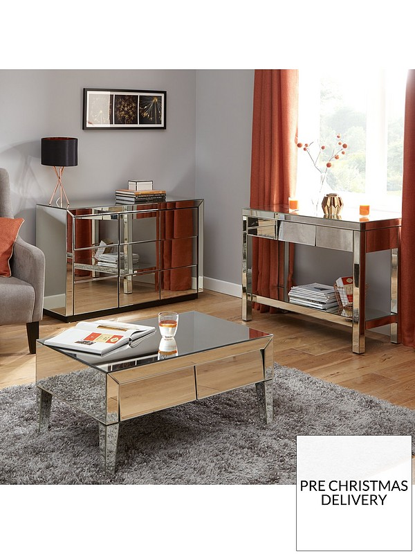 Terrific Monte Carlo Mirrored Storage Coffee Table Pabps2019 Chair Design Images Pabps2019Com