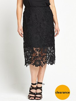 v-by-very-curve-lace-pencil-skirt