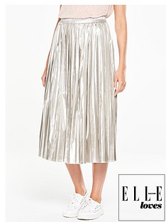v-by-very-metallic-pleated-skirt
